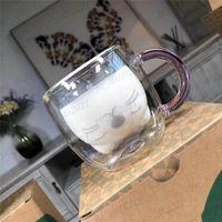 Taiwan Mid New Starbucks Little Cat Bearista Klarglas Cup 250ml Doppel Borosilikatglas Kitty Kaffeetasse Kostenloser Versand