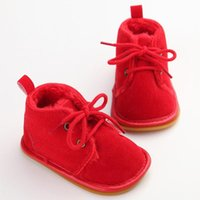 Boots Winter Infant Girls Boys Snow Booties Toddler Fur Warm Arrival Style Little Kids Strappy Shoes Gift Baby