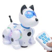 Kablosuz Uzaktan Kumanda Akıllı Robot Erken Eğitim Aydınlanma Elektrikli Oyuncak Köpek Dokunmatik Algılama Çocuk Elektronik Evcil Hayvan