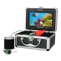 Cameras 1000tvl Fishing Video Camera Underwater Fish Finder 7'LCD 4400mah Battery 6PCS IR LED Lights 10M 20M 30M Cable Float