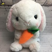 40 cm Çocuklar Karikatür Lolita Tavşan Edu Edici Plushtoy, Bebek Bunny Kabarık Tavşan Peluş Hayvan Dolması Oyuncaklar