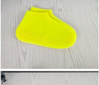 DSF02 Силиконовая обложка для обуви Дождепроизводимый, водонепроницаемый, противоскользящий моющийся мужской и женский открытый дождь сапоги крышки дождя обувь