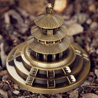 Tempio del paradiso modello cinese modello metallo costruzione antica architettura di Pechino Temple Decor Tourism Turismo Creativo Souvenir figurine