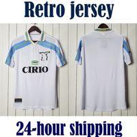 00 01 Lazio via Retro 2000 2001 Camisetas de Fútbol Soccer Jersey Camicia da calcio Vintage Classic Camiseta