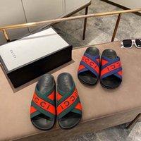 فاخر صندل صندل تصميم مصمم التطريز الأسود النعال الضحلة الشاطئ الترفيه داخلي الدانتيل قفل مربع مجموعة كاملة من الملحقات 35-44 Shoe008 1301