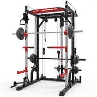 Integrado Fitness Equip Smith Smith Squat Squat Cremalheira Quadro de Pórtico Início Compreensivo Dispositivo de Treinamento Grátis Pressione Frame.11
