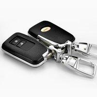 لكزس LX570 RX450HL GS NX200 هو RX300 سيارة جلدية غطاء مفتاح مشبك حقيبة مفتاح التحكم عن بعد حماية