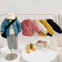 Down Coat Children's Cotton-Padded Clothes 2021 Autumn Winter Fashion Clothinng Unisex Baby Hooded Parka Boys Jacket