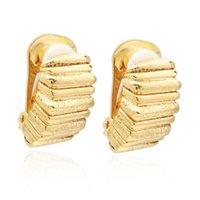 VAROLE Irregular Ear Cuff Clip-on Screw Back Earrings For Women Gold Color Earcuff Earings Without Piercing Fashion Jewelry Gifts Geometry