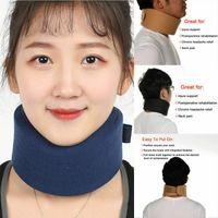 Almohada Inicio Textil Terapia ajustable Unisex Espuma suave Cuello cervical Soporte de cuello de cuello Hombro Hombro Alivio Herramienta de atención médica