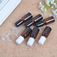 30ml rouleau d'ambre sur la bouteille pour huile essentielle 30cc Brown Roller-On Brotect Verre Verre Verre Parfum F20211614