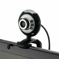 Webcams HD USB Webcam 16 Megapixel Camera With Mic Night Vision Web Cam For PC Laptop Video Calling Computer Cams