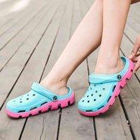 Slaytlar Moda Terlik Ayakkabı Kauçuk Sandalet Kadınlar Yastıklama Spor Up Sandy Bule Plaj Köpük Açık Kapalı Yürüyüş Yumuşak Alt Bir Boyut 36-44