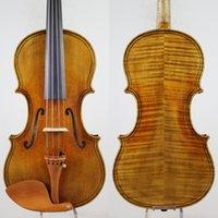 Maggini-stijl 4/4 viool-violino-kopie! Goede projectie, open toon! + Gratis case, boog, verzending! Aubert Bridge!