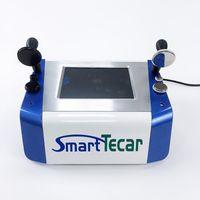 Neueste Portable 2 in 1 Tecar Therapie Maschine Tiefheizung Radiofrequenz Physiotherapiegeräte Körper Schmerz Relief CET RET RF Schlankheit
