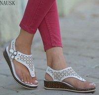 Oeak femmes sandales sandales d'été chaussures croix plateforme sandale coins chaussures casual femme peep toe zapatos de mujer goutte expédition 27TB #