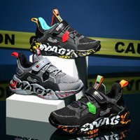 Kids Shoes Basketball Trainers Toddler Youth Children Boys And Girls Graffiti Pattern Chaussures Pour Enfants