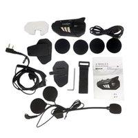 FreedConn F1 Motosiklet Wifi Sürüş Kaydedici 1080 P HD Bluetooth 5.0 Kask Kulaklık Kamera 6 Rider Grubu Interkom Aksiyon Kamera