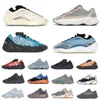 Krem Kanye MNVN 700 erkek koşu ayakkabısı V3 Azareth Azael Alvah Statik Vanta Utility Siyah kemik Fosfor Tephra Salt sun batı erkek kadın eğitmenler spor ayakkabı