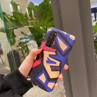 Étui de téléphone dur pour Huawei P20 P30 Lite Case Honor 20 10 8x 9 P Smart 2019 Nova 5T Mate 20 30Pro couvercle arrière Capa géométrique mignon