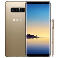 Remburbishished Original Samsung Galaxy Note 8 N950F N950U 6.3 인치 Octa 코어 6GB RAM 64GB ROM 잠금 해제 4G LTE 스마트 휴대 전화 무료 DHL 5PCS