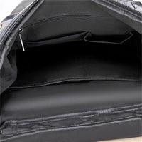 Zaino sportivo in pelle da uomo antifurto Backbag per laptop vintage viaggio bagpack borsa da scuola maschile per ragazzi 159 W2