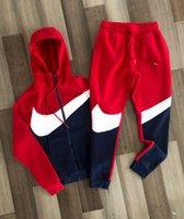 2021 Sport sportivi europei e americani Moda casual Maglione con cappuccio Casual Zipper Trend Casual Trend