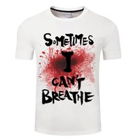 Черная жизнь имеет значение T рубашки мода мужчин и женщин футболка с коротким рукавом Унисекс я не могу дышать Джордж Флойд футболку Streetwear AC1