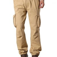 Womail 2019 Moda Pantolon Adam Şık ve Moda Tasarım Rahat Pantolon Erkekler Sonbahar Rahat Katı Gevşek Rahat Pantolon1