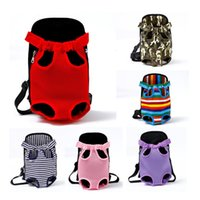 Dog Car Seat Covers Carrier For Dogs Pet Backpack Mesh Outdoor Travel Products Breathable Shoulder Handle Bags Small Cats