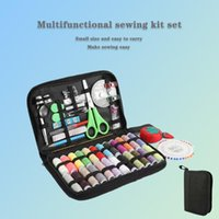 Nähen Vorstellungen Werkzeuge Inne 136pcs Kit Threads Handwerker und Kunsthandwerk Maschine GIMP Handarbeit Näherinnen Stickerei Zubehör Box Anzug