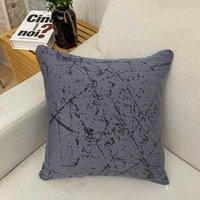 Cushion Decorative Pillow Solid Color Elastic Cushion Cover 45x45cm