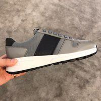 2021 homens tênis de couro de bezerro PRAX 01 Tecnologia Tecido Sapatos Branco Cerise Malha de Malha de Sapato de Costura de Costura de Tela Impresso Running Trainers 296