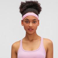 L-AS01 pałąk dietetycznych do jogi Szkolenia Fitness Bezproblemowa Wysoka Elastyczna Opaska No Trace Chłonne zespoły Włosów Akcesoria Dla Kobiet