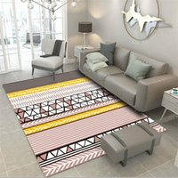 Carpets Household 3D Printed Carpet Nordic Style Living Room Coffee Table Bedside Blanket Home Bedroom Custom Rectangle Rug And