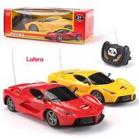 رخيصة الثمن 124 الكهربائية rc محاكاة lambor LP700 لعبة سيارات التحكم عن بعد السيارة لعبة الكهربائية للأطفال هدايا عيد