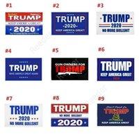 90 * 150 Трамп Флаг 3 * 5 футов Тонкая синяя линия Красная линия Флаг США 2020 Флаги президента не наступают на меня Баннер Дар90