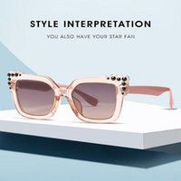 Sonnenbrille Frau Ins Beliebte Mode Kleine Katze Schmetterling Vintage Oval Eyewear Männer Sonnenbrille Schattierungen UV400 2021 Neuer heißer Trend