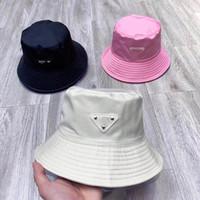 20SS New Bucket Chapeau pour Femmes Mode Classic Classic Designer Femmes Nylon Chapeau New Automne Printemps Pêcheur Chapeau Sun Caps Casquettes Drop Navire
