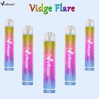 Wholesale Bulk Factory Electronic Cigarettes Vidge Flare 800puffs Disposable Vape Pen with 500mAh Battery Vaporizers 3.0ml oil liquild 10 Colors available