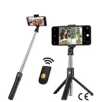 Stainless Steel Bluetooth Selfie Stick Remote Control Tripod...