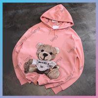 Lussurys Designer Felpe da donna 2021 Lady s Fashion Hoodie Felpa con cappuccio a maniche lunghe PULLOVER PULLOVER Womens Felpa Embroid Bear Animali di marca Animali stampati Pullover S-L