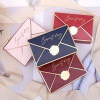 5 stücke Kreative Candy Box Europäischer Stil Bronzing Boxen Hochzeit Geburtstagsfeier High-End Geschenk Rechteckige Schokoladenbox Süßer Tag