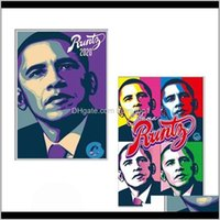 2020 Runtz Obama Mylar Bags 3.5G Zipper Pouch 420 Cookies Packaging For Dry Herb Flower Tobacco Edibles Gummies Smell Proof Mylar Bag Zwdxz
