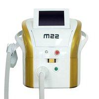 M22 IPL Laser Diagnos Skin Föryngring Ta bort akne Spots Rynkor Minska Röd Blod Hårborttagning Laser Intense Pulsed Light Beauty Equipment