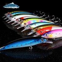 Biwvo MINNOW 낚시를위한 금속 오징어 딱딱한 물건 낚시를위한 낚시를위한 단단한 상품 Sea River Shad Wobbler for Trolling Squid 물고기 유혹