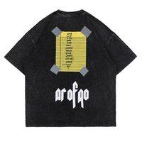 USA Europe Fashion Savage Sauvage T-shirt T-shirt Spring Summer Sous-bas Vintage Skateboard Hommes Femmes High Streetwear Cool Tshirt