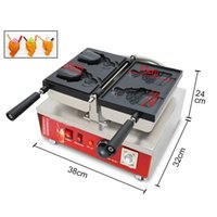 Japanische Einzeleis-Fisch-Waffelhersteller, Lebensmittelverarbeitungsausrüstung 110V 220V elektrische Taiyaki-Maschine