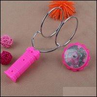 Novidade Gag GendsCoscope Flashing Spinning Top Giroscópio Magnético Roda de Roda Brinquedo Colorf Laser Luz LED Brinquedos Giroscópicos para Crianças Drop