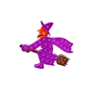 New Halloween Kawaii Decompression Popit Relieve Anxiety Exercise Intellectual Development Rat Killing Pioneer Fidget Relax Toys